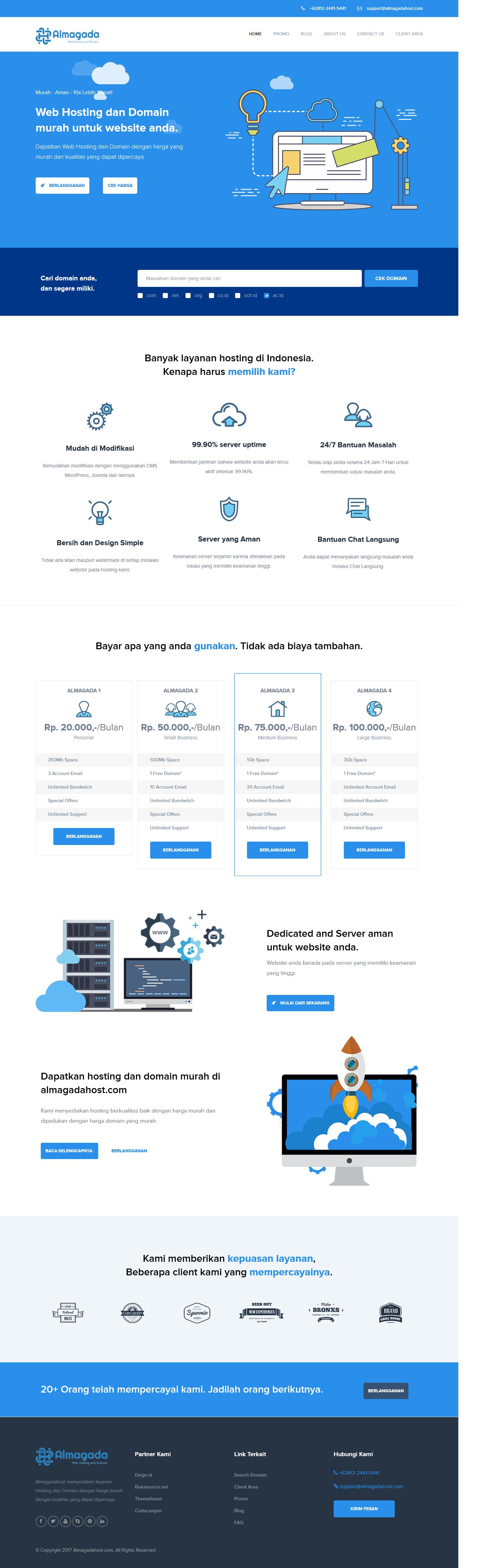Almagadahost – Web Hosting dan Domain Murah Indonesia - dsignid