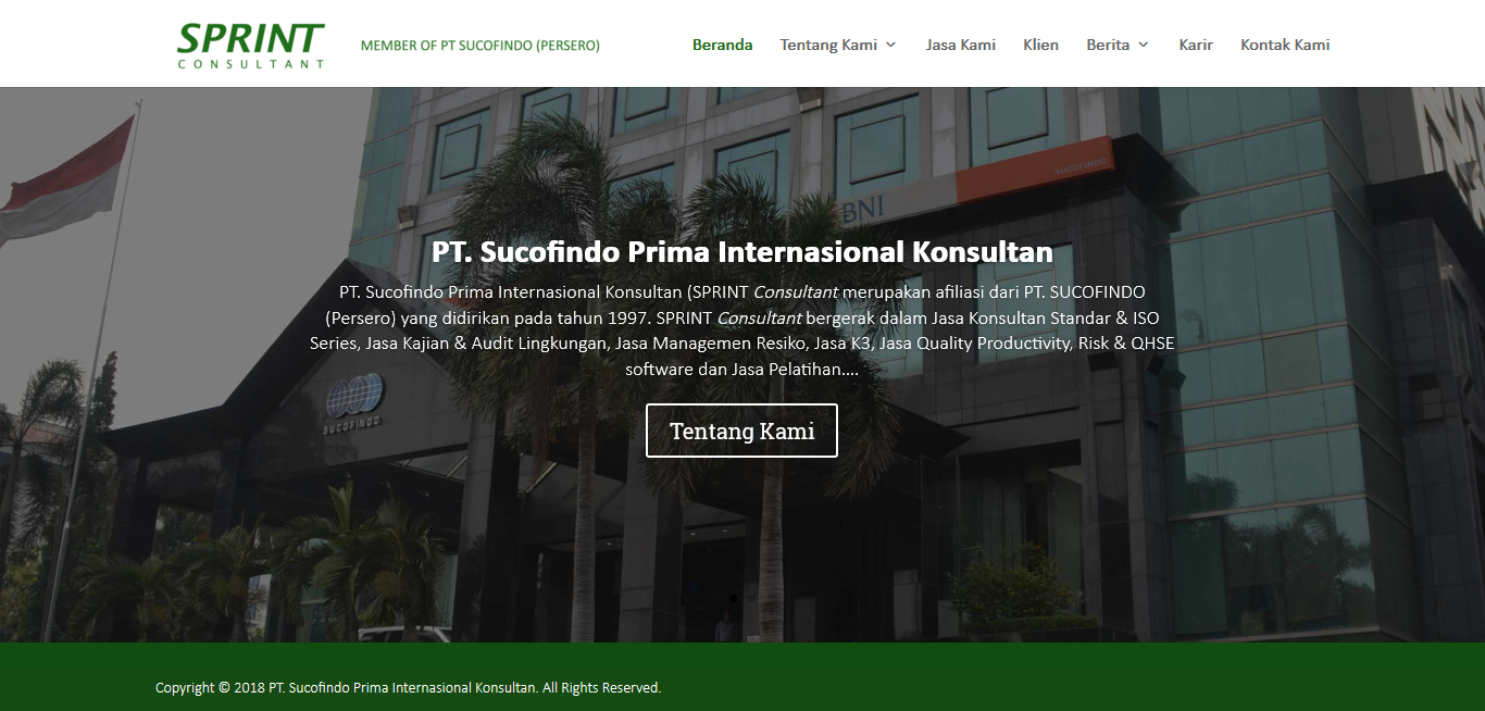 PT Sucofindo Prima Internasional Konsultan SPRINT Consultant - dsignid